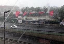 Son dakika | İstanbulda beklenen yağış başladı Ne zamana kadar sürecek