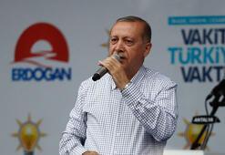 Cumhurbaşkanı Erdoğan:24 Haziranda kim kimin apoletini sökecek, gelin bunun hesabını soralım