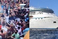 Dünyanın en iğrenç tatili Gördüklerine dayanamayıp gemiden kaçtılar