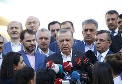 Son dakika: Cumhurbaşkanı Erdoğan bayram namazı sonrası flaş açıklama