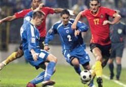 Avantaj Bosna'da: 2-1