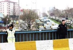 'Obama provası' trafiği felç etti