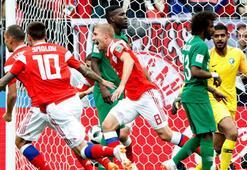 Rusya-Suudi Arabistan: 5-0 (İşte maçın özeti)