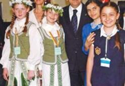 Dünya çocukları İzmir'de buluşacak
