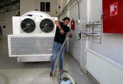 Diş hekimi devlet desteğiyle süt işleme tesisi kurdu
