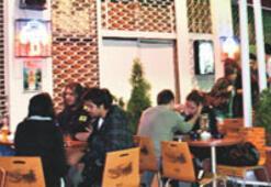 Taksim'de bardan yurtlara servis
