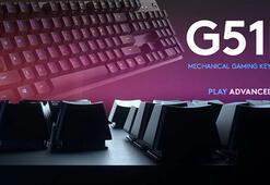 Logitech G, mekanik tuş anahtarı GX Blue ve G512 mekanik oyun klavyesini duyurdu