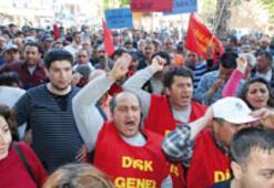 Sözleşmesi biten işçiler, işsiz kaldı