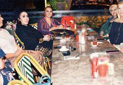 Seda Sayan yeni mekânında dostlarını ağırladı
