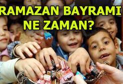 Ramazan Bayramı ne zaman başlıyor Bayram tatili kaç gün