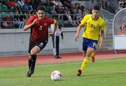 18 Yaş Altı Milli Futbol Takımı, İsveçi 3-2 yendi