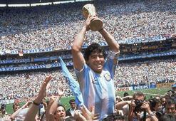 1986 Dünya Kupasına Maradona damgası