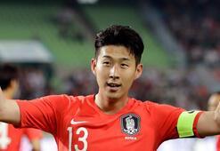 Güney Korenin kozu Son Heung-min