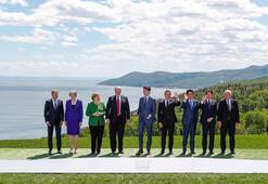 Son dakika... Dünya çalkalanıyor Trump G7 zirvesini böldü