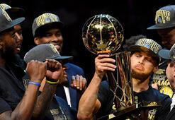 NBAde şampiyon yine Golden State Warriors...