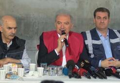 İBB Başkanı açıkladı Metro hattının bitiş tarihi...