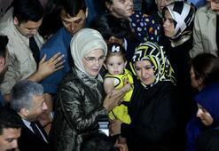 Emine Erdoğan iftarda şehit aileleriyle buluştu