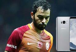 Galatasaraylı Selçuk İnan, Galaxy S8 davasından vazgeçti