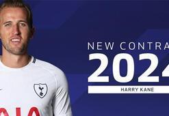 Harry Kane 2024e kadar Tottenhamda