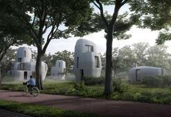 Dünyanın yaşanabilir ilk 3 boyutlu baskı evleri inşa edilmeye başlandı