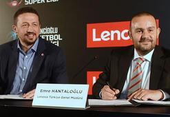 Tahincioğlu Basketbol Süper Liginin ana sponsoru Lenovo