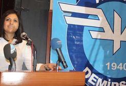 Adana Demirspor'da Nilay Ateşoğulları adaylığını açıkladı