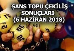 Şans Topu çekilişi sonuçları açıklandı (6 Haziran 2018)