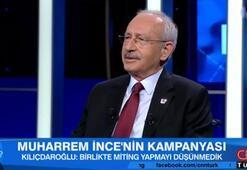 Son dakika: Kılıçdaroğlu CNN TÜRKte açıkladı İncenin oy oranı...