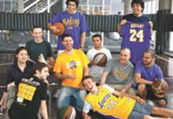 Türkiye'de doğdular, Lakers'lı oldular