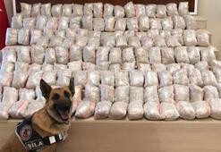Vanda uyuşturucu operasyonu: 141 kilo eroin ele geçirildi