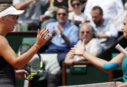 Wozniacki Fransa Açıktan elendi