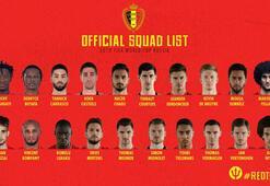 İşte Belçikanın Dünya Kupası kadrosu