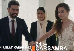 Sen Anlat Karadeniz 20. bölüm fragmanı Vedat ve Nazar evleniyor