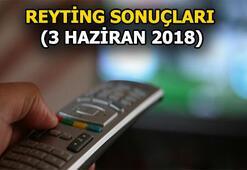 3 Haziran 2018 reyting sonuçları açıklandı Jet Sosyete, Çocuklar Duymasın, Savaşçı...