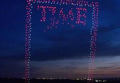 958 drone ile Time Dergisinin kapak çalışması hazırlandı