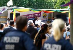 Türk siyasetçilere seçim yasağı getiren Almanya HDPye engel çıkarmadı