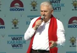 Başbakan Yıldırım Karabükte konuştu