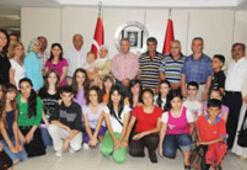 Durak'a öğrencilerden teşekkür ziyareti