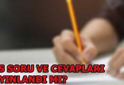 LGS soruları ve cevapları erişime açıldı (2018 Liseye Geçiş Sınavı)