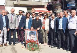 Ali İsmail Korkmaz saldırıya uğradığı  sokakta anıldı