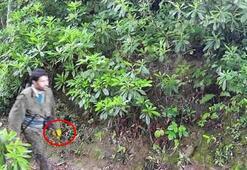 Son dakika: Fotokapana yakalanan teröristin sarı eldiveninin sırrı çözüldü
