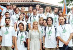 AB gençleri çevre için İzmit'te buluştu