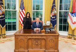 Kim Kardashian ve Trump af için buluştu, sosyal medya yıkıldı