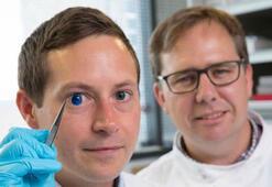 Bilim adamları, dünyanın ilk 3D yapay göz korneasını bastı