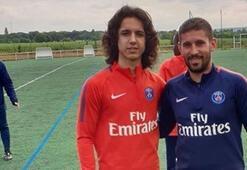 Kayserisporlu Emre, PSG kampında antrenmana çıktı