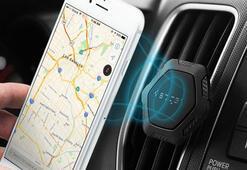 Spigen manyetik araç tutacağı inceleme: Araçta telefonu düşürme derdi bitti