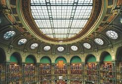 Modern bir şehrin kütüphanesi olmaz mı