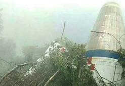 UFO sanılan cisim roket parçası çıktı