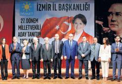 İyi Parti, İzmirde adaylarını tanıttı