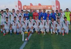 Elit 15 Yaş Altı Liginde şampiyon Bursaspor